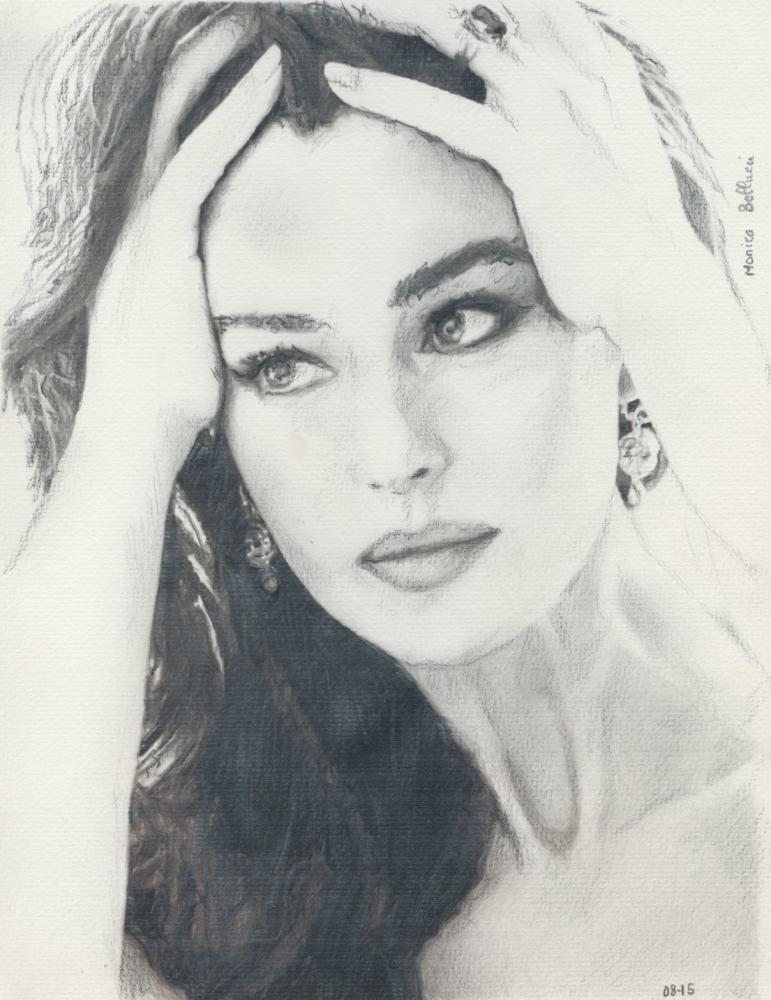 Monica Bellucci por baudet